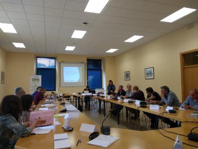 Início do Grupo de discussão intersector da Extremadura