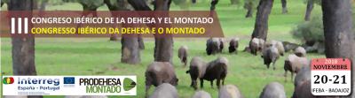 Em Badajoz terá lugar em novembro o III Congresso Ibérico da Dehesa e o Montado