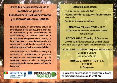 Jornadas de presentación de la Red Ibérica para la Transferencia del Conocimiento y la Innovación en la Dehesa y el Montado