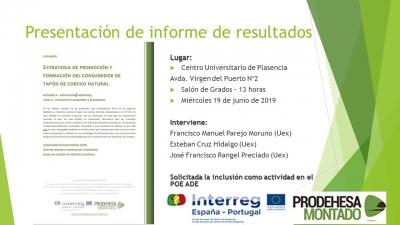 Estrategia de promoción y formación del consumidor de tapón de corcho natural